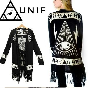All seeing eye cardigan S*see note